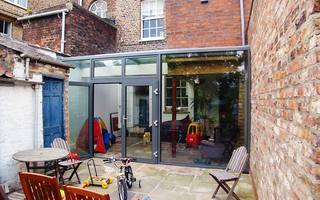 Grade II Listed House Extension in a contemporary style by mbo architects york
