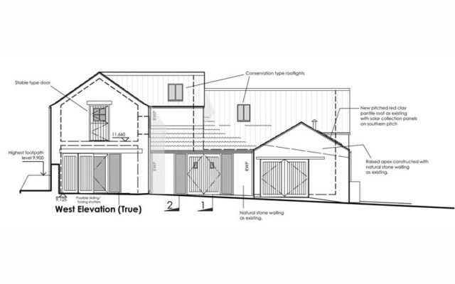 Cropton Barn Conversion - mbo extension architects York